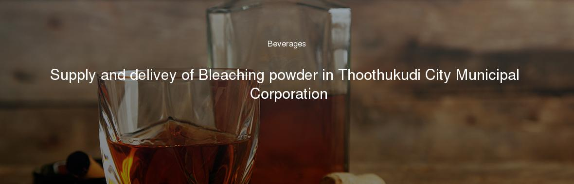 Thoothukudi corporation tenders dating