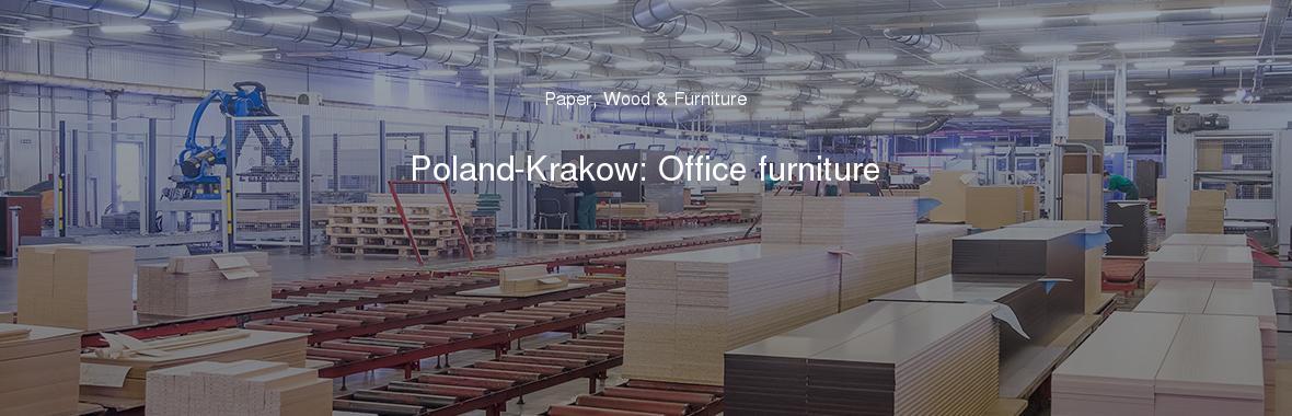 Poland Krakow Office Furniture