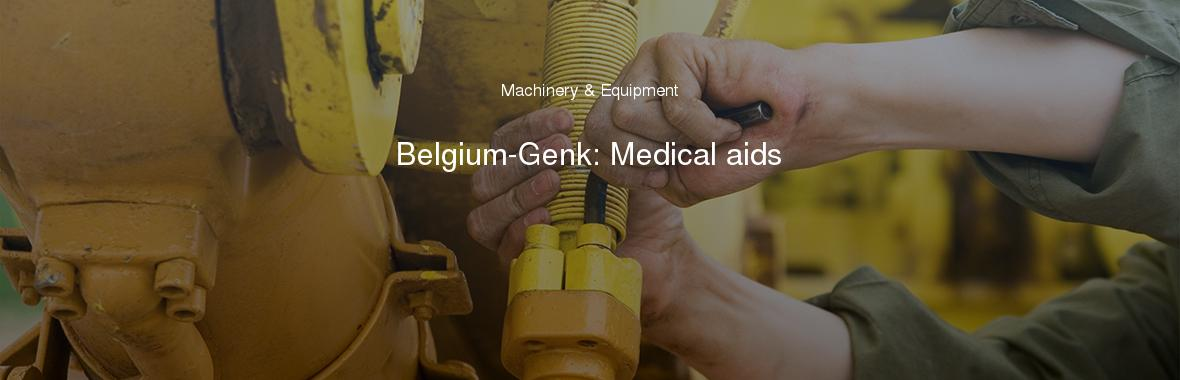 Belgium-Genk: Medical aids